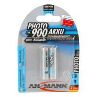 Аккумуляторы металлогидридные Ni-MH Ansmann 5030512 Photo AAA HR03 900мАч 1,2В 2шт