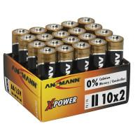 Батарейки Ansmann X-Power AA 20шт