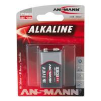 Батарейка алкалиновая 550 мАч Ansmann 1515-0000 Red 6LR61 крона 9В 1шт