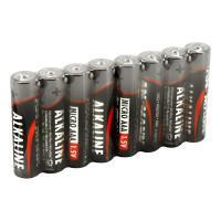 Батарейки алкалиновые 1200 мАч Ansmann 5015360 Red AAA LR03 80шт