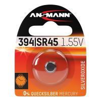 Батарейка в часы Ansmann 1516-0016 394 SR45 1,55В дисковая 1шт