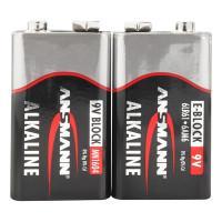 Батарейки алкалиновые 550 мАч Ansmann 5015591 Red 6LR61 крона 9В 20шт