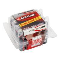 Батарейки алкалиновые 1200 мАч Ansmann 5015538 Red AAA LR03 20шт