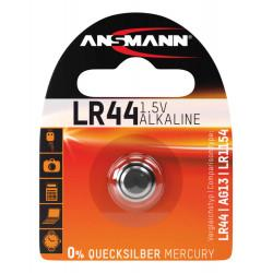 Алкалиновая батарейка Ansmann AG13 LR44 A76 357 1,5В дисковая 1шт