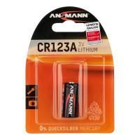 Батарейка Ansmann 5020012 CR123A 3В литиевая специальная 1шт