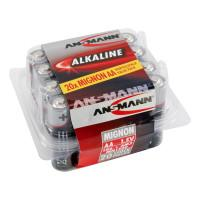 Батарейка алкалиновая Ansmann 5015548 Red AA LR6 20шт