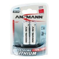 Батарейки литиевые 3000 мАч Ansmann 5021003 Extreme Lithium АА FR6 2шт