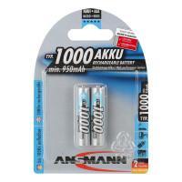 Аккумулятор Ni-MH Ansmann AAA 1000мАч 1,2В 2шт