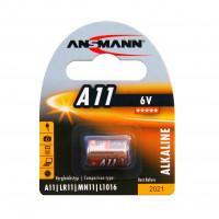 Батарейка алкалиновая Ansmann 1510-0007 A11 LR11 6В специальная 1шт