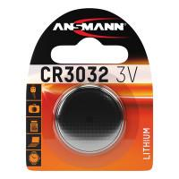 Батарейка таблетка Ansmann 1516-0013 CR3032 3В дисковая литиевая 1шт