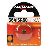 Батарейка в часы Ansmann 1516-0022 364 SR60 1,55В дисковая 1шт