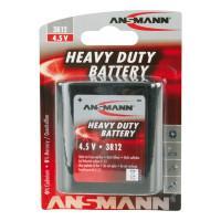Батарейка квадратная солевая 2000 мАч Ansmann 5013091 Heavy Duty 3R12 4,5В 1шт