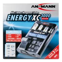 Зарядное устройство Ni-Mh, Ni-Cd, Li-Ion, Li-Po Ansmann 5207452 Energy XC3000 для D, C, AA, AAA, Крона 9V