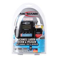 Интеллектуальное зарядное устройство Ansmann Powerline 1001-0005 4 Pro для Ni-Mh Ni-Cd на 4 аккумулятора АА и ААА