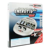 Зарядное устройство Ni-Mh, Ni-Cd Ansmann 1001-0004 Energy 16 plus для D, C, AA, AAA,Крона 9V, USB
