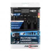 Зарядное устройство Ni-Mh, Ni-Cd Ansmann Powerline 5 Pro для D, C, AA, AAA, Крона 9V, USB