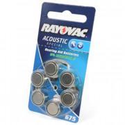 Батарейки для слуховых аппаратов Rayovac Acoustic Special 675
