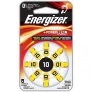 Батарейки для слуховых аппаратов Energizer Zinc Air 10 8шт