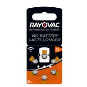 Батарейки для слуховых аппаратов Rayovac Hearing Aid Batteries 13