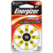 Батарейки для слуховых аппаратов Energizer Zinc Air 10