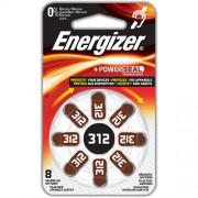 Батарейки для слуховых аппаратов Energizer Zinc Air 312