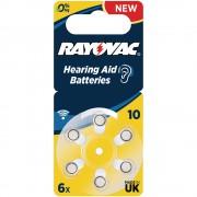 Батарейки для слуховых аппаратов Rayovac Hearing Aid Batteries 10