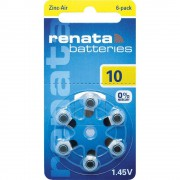 Батарейки для слуховых аппаратов Renata Batteries 10