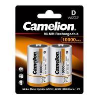 Аккумуляторы Ni-Mh металлогидридные 6185 Camelion NH-D10000BP2 D 33600 10000 мАч 1.2 В 2шт