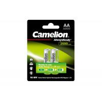 Аккумуляторы Ni-Mh металлогидридные 11006 Camelion Always Ready NH-AA2500ARBP2 АА 14500 2500 мАч 1.2 В 2шт