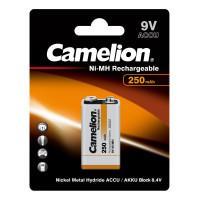 Аккумуляторы Ni-Mh металлогидридные 5014 Camelion NH-9V250BP1 Крона 250 мАч 9В 1шт