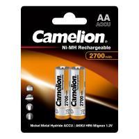 Аккумуляторы Ni-Mh металлогидридные 7371 Camelion NH-AA2700BP2 АА 14500 2700 мАч 1.2 В 2шт