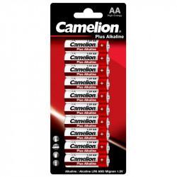 Батарейки Camelion Plus Alkaline 14132 AA LR6 алкалиновые 1,5В 10шт