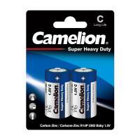Батарейки Camelion Blue 3216 R14-BP2B Super Heavy Duty C R14 солевые 1,5В 3800мач 2шт