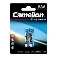 Батарейки Camelion Digi Alkaline 9279 LR03-BP2DG AAA LR03 алкалиновые 1,5В 1150мАч 2шт