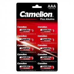 Батарейки Camelion Plus Alkaline 14136 AAA LR03 алкалиновые 1,5В 10шт
