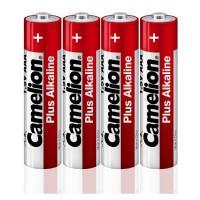 Батарейки Camelion Alkaline Plus 12554 LR6-SP4 AA LR6 алкалиновые 1,5В 2700мАч 4шт