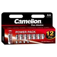 Батарейки Camelion Alkaline Plus 5818 LR6-HP12 AA LR6 алкалиновые 1,5В 2700мАч 12шт