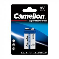 Батарейка солевая Camelion 3218 Super Heavy Duty крона 9V 6F22 9В