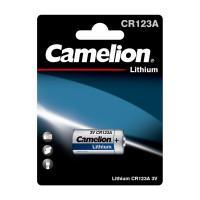 Батарейка литиевая 1849 Camelion Lithium CR123A-BP1 CR123 3В 1300мАч 1шт