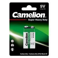 Батарейка солевая 1672 Camelion Green 6F22 Крона 9v 1шт
