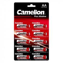 Батарейки Camelion Plus Alkaline 14135 AA LR6 алкалиновые 1,5В 10шт