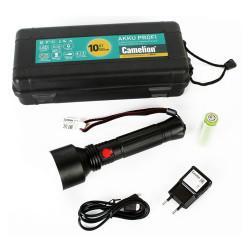 Фонарь Camelion 14279 E163 поисковый светодиодный аккумуляторный