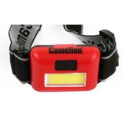 Фонарь налобный светодиодный IP65 13633 Camelion LED5357 Headlite
