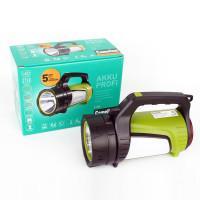 Фонарь аккумуляторный светодиодный прожектор Camelion 14257 E1338 комбинированый