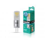 Лампа светодиодная G4 капсульная 13750 Camelion LED5-G4-JC-NF/845/G4 12В 5Вт 4500К нейтральный белый