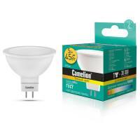 Лампа светодиодная GU 5.3 12041 Camelion 220В 5Вт (45Вт) 50мм 3000К для точечного светильника