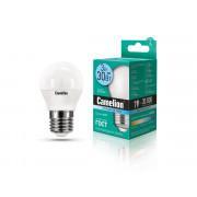 Лампа светодиодная ШАР 11376 Camelion LED3-G45/845/E27 220В 3Вт E27 4500K нейтральный белый