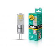 Лампа светодиодная G4 капсульная 13749 Camelion LED5-G4-JC-NF/830/G4 12В 5Вт 3000К теплый белый