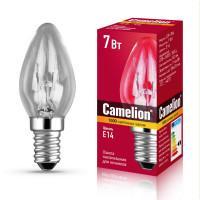 Лампа накаливания для ночников и духовок Camelion 7278 прозрачная 220В 7Вт Е14