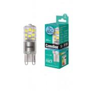 Лампа светодиодная G9 Camelion капсульная прозрачная 220В 3Вт (25Вт) 4500К нейтральный белый арт.13703